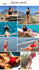 Bandage Vintage Swimsuit - fishingnvarieties.store