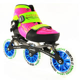 inline speed skates Adjustable, for Kid Children adjustable single wash shoes inline roller skates 3*110mm 3 wheels