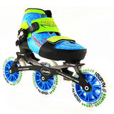 inline speed skates Adjustable, for Kid Children adjustable single wash shoes inline roller skates 3*110mm 3 wheels - fishingnvarieties.store