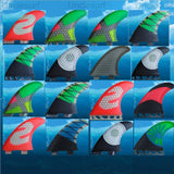 FCS FUTURE FCS ii G5 surf fins for surfboard sup board fiberglass honeycomb quillas fins tri set surfing fin surfboard tail pad - fishingnvarieties.store