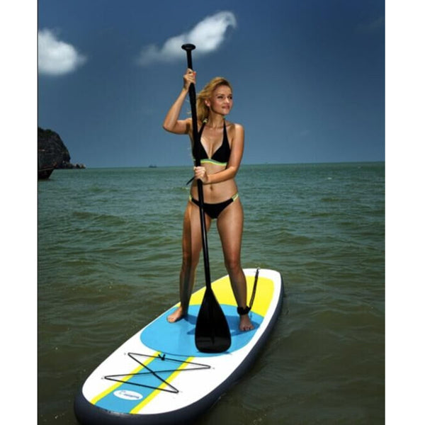 300x76x10CM 10FT SUP Inflatable Surfing Board Soft Surf Stand Up Paddle Board Surf Paddling 2018 NEW - fishingnvarieties.store