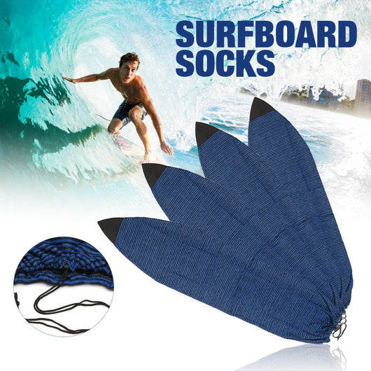 Top Quality Water Sports 6''/6.3''/6.6''/7'' Surfboard Socks Cover Surf Board Protective Bag Storage Case - fishingnvarieties.store