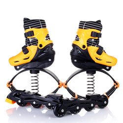 2 in 1 Adult Children Inline Skates Jump Fitness Exercise Shoes Adjustable Breathable Skates Shoes Patines Multifunction