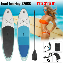 300cm*76cm*10cm SUP surf surfboard Aufblasbare Stand Up water sport Paddle Board Surfbrett + Paddle + Pumpe + Rucksack - fishingnvarieties.store