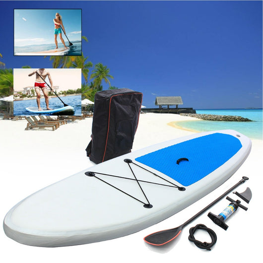 Gofun 310*68.5*10cm Stand Up Paddle Surfboard Inflatable Board SUP Set Wave Rider + Pump inflatable surf board paddle boat - fishingnvarieties.store