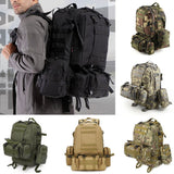 Outlife 50L Outdoor Backpack Molle Military Tactical Backpack Rucksack Sports Bag Waterproof Camping Hiking Backpack For Travel - fishingnvarieties.store