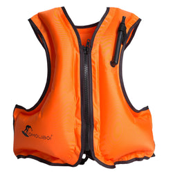 Adult Inflatable Swim Vest Life Jacket for Snorkeling Floating Device Swimming Drifting Surfing Water Sports Life Saving - fishingnvarieties.store