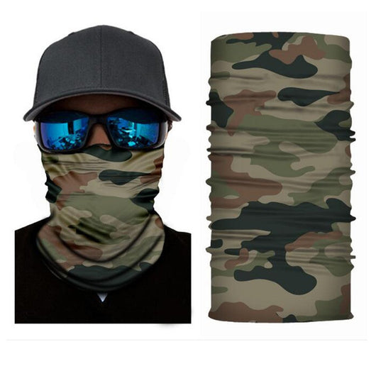 Outdoor Sports / Camping Headscarf Mask / Bandana Camouflage Series - fishingnvarieties.store