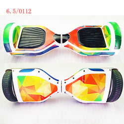 Best Sale 6.5 Inch Self-Balancing Scooter Skin Hover Electric Skate Board Sticker Two-Wheel Smart Protective Cover Case Stickers - fishingnvarieties.store