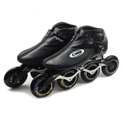 Japy Cityrun Speed Inline Skates Carbon Fiber Professional Competition Skates 4 Wheels Racing Skating Patines Similar Powerslide - fishingnvarieties.store