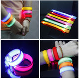 LED Luminous Arm Bracelet Light Night Safety Warning LED Flash Light For Running outdoor tool camping equipment survival tool 15 - fishingnvarieties.store