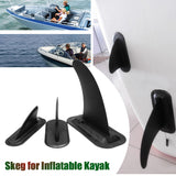 3Sizes Kayak Skeg Tracking Fin Spare Parts, Detachable Inflatable Kayak Canoe Boat Dinghy Marine Paddle Board Detachable Surf - fishingnvarieties.store