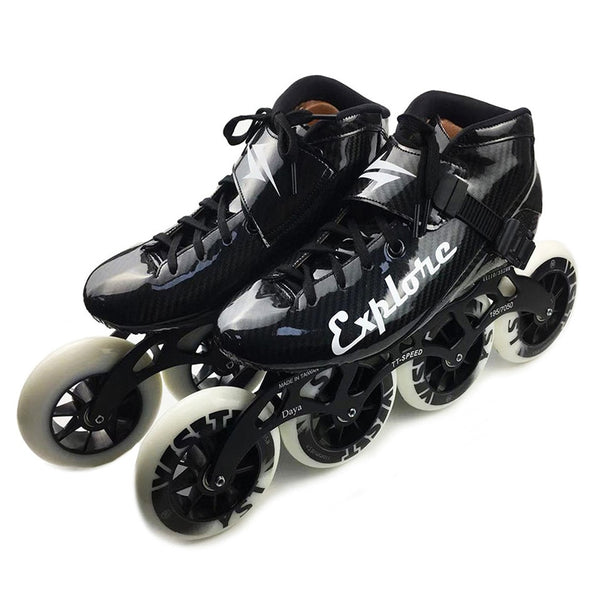 Worth! Carbon Fiberglass Inline Speed Skates Kid Adult Beginner New hand Speed Racing Train Street Racing Shoes JP Korea for MPC - fishingnvarieties.store