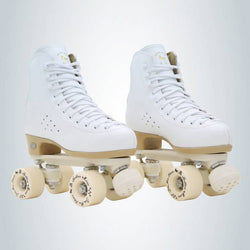 Adult Professional Two Line Roller Skates Shoes Double Row Skates Parenting Patines PU Wheel Cowhide Genuine Leather Unisex IB50 - fishingnvarieties.store