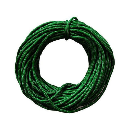camping equipment 15m Reflective Para Cord High Strength Woven Rope Wind Rope Tent For Camping Hiking Nylon Durable Practical - fishingnvarieties.store