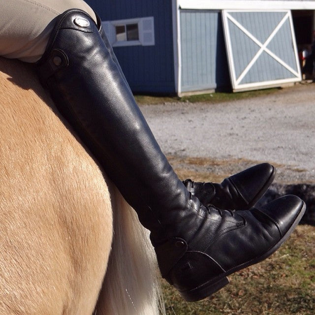 Parlanti: Miami Field Boot - Black - Gee Gee Equine Equestrian Boutique   - 6