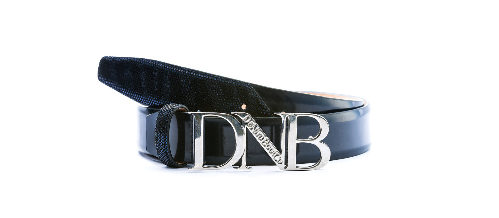 Deniro Incanto Brushed Blue Belt