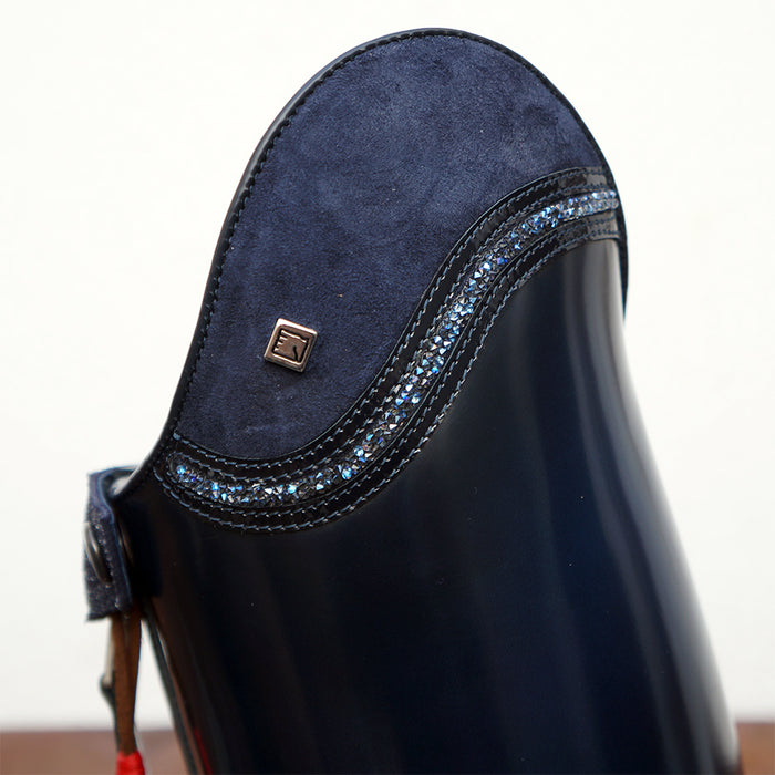 Deniro Tall Dressage boot Bellini custom top