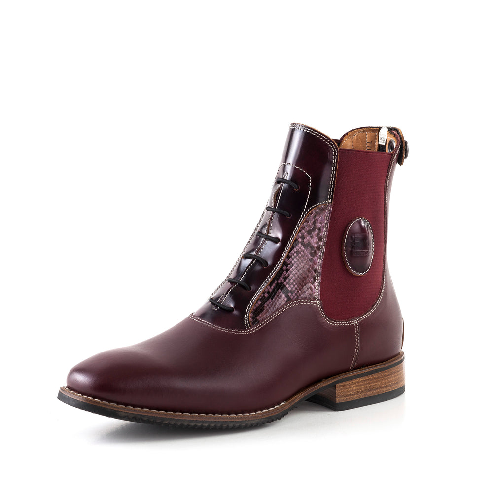 Deniro Custom Padock boot Bordeaux