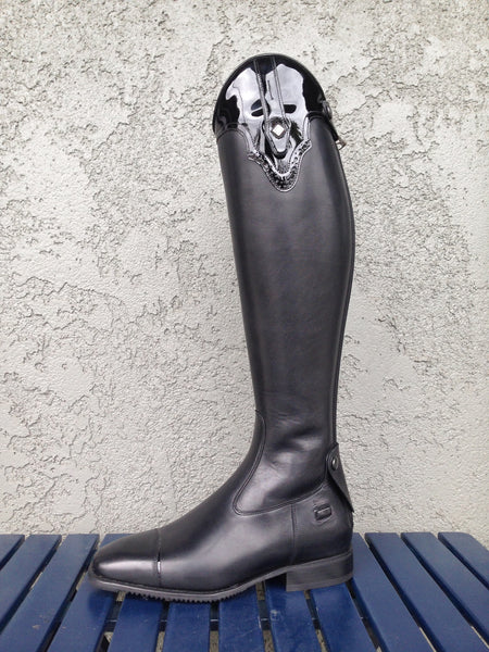 "DeNiro Dress Boot : Designed by ""Gee Gee"" - Gee Gee Equine Equestrian Boutique   - 1"