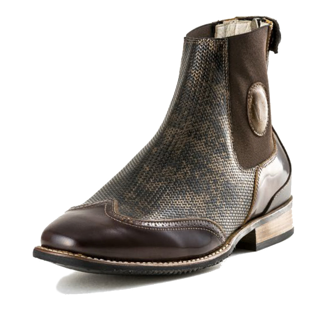 Deniro Intreccio Bronzo Paddock Boot