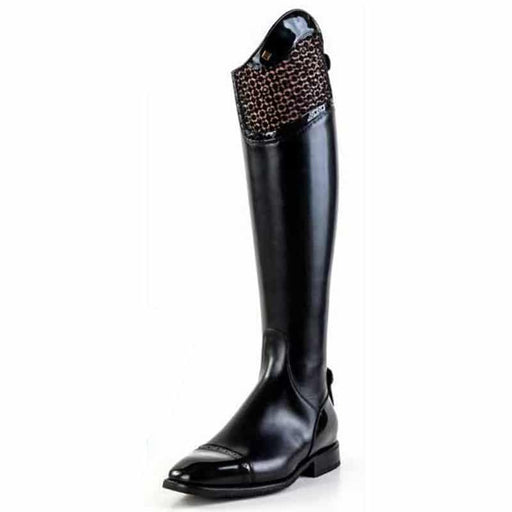 Deniro Vanita in Nero Messapia Boot
