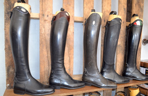 Parlanti Customize boots colors and  swatches
