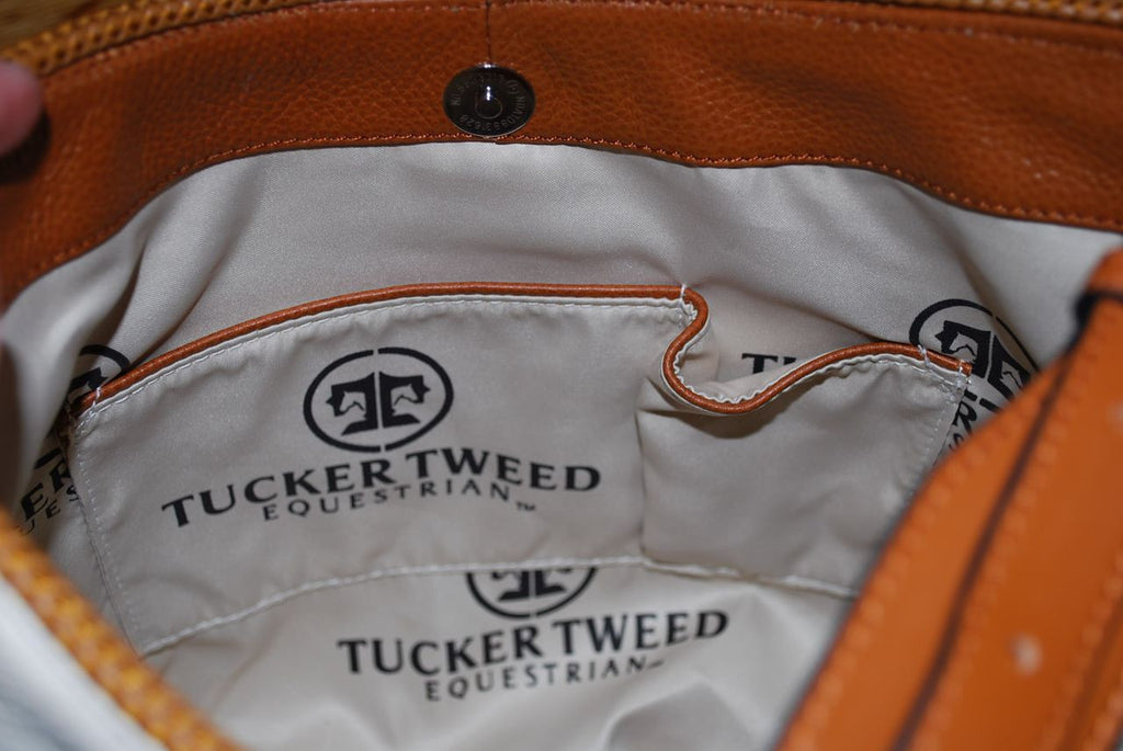 Tucker Tweed: The Tweed Manor Tote - Dressage - Gee Gee Equine Equestrian Boutique   - 23