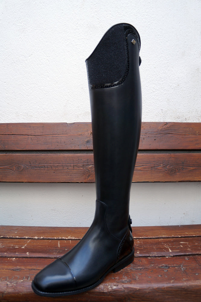 Deniro Tall Boot S2601 Top Milano in Stardust Black