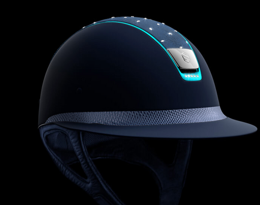 Samshield Crystal Comet Custom Miss Shield Helmet