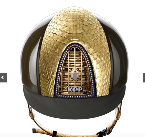 Kep Custom Gold Helmet