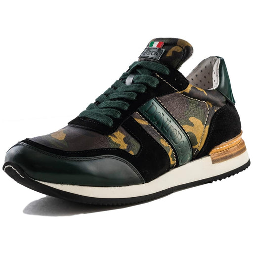 Deniro Savage Viceversa Green Camouglage Sneaker