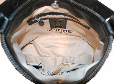 Tucker Tweed: The Tweed Manor Tote - Signature - Gee Gee Equine Equestrian Boutique   - 18