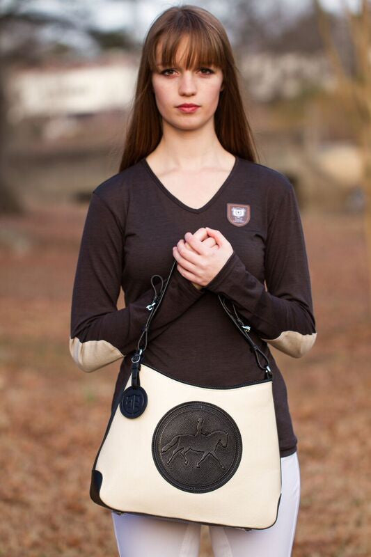 Tucker Tweed: The Tweed Manor Tote - Dressage - Gee Gee Equine Equestrian Boutique   - 16