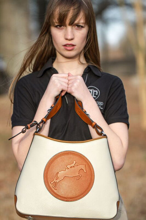 Tucker Tweed: The Tweed Manor Tote - Hunter/Jumper - Gee Gee Equine Equestrian Boutique   - 6