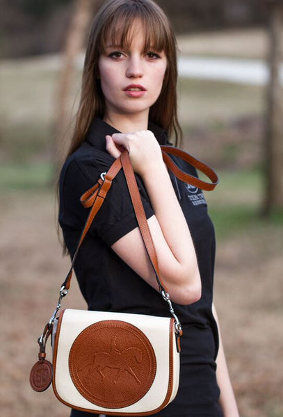 Tucker Tweed: The Camden Crossbody - Dressage - Gee Gee Equine Equestrian Boutique   - 1
