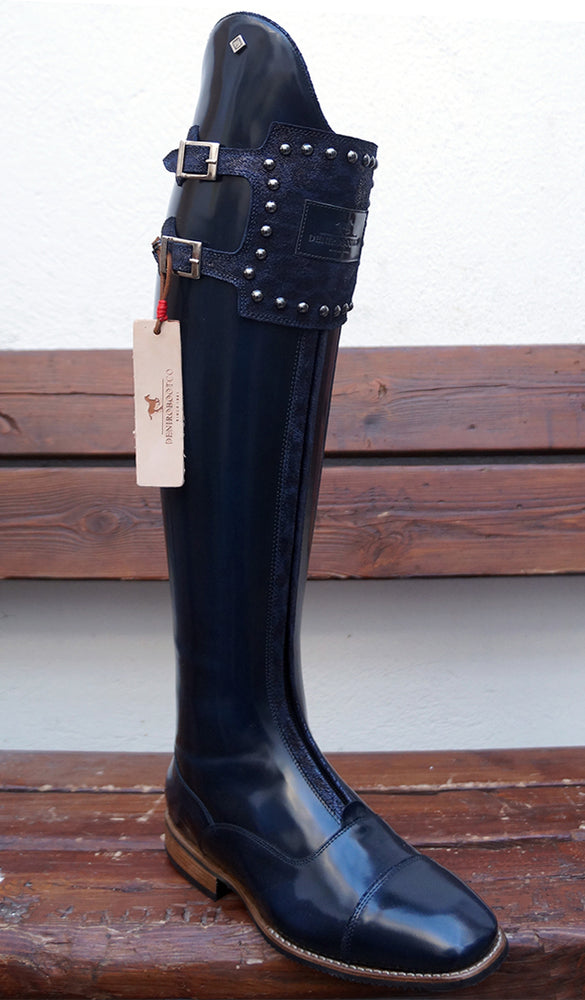 Deniro S5601 Big Stud Strap Tall boot