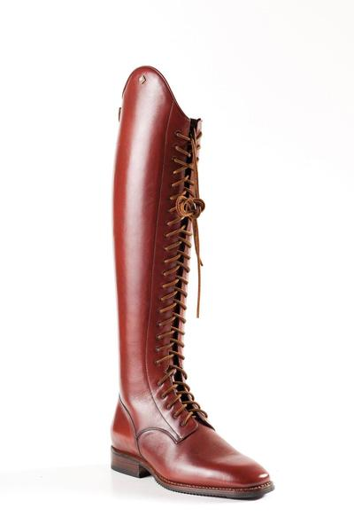 Deniro Dressage brown laced boots