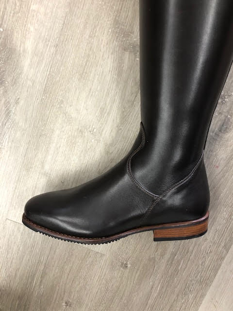 Tiziano Dressage boot Caffe  with LV top