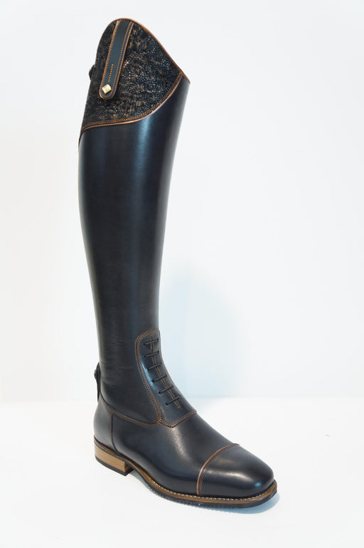 Deniro Cleopatra Fenice brown  Tall Boot