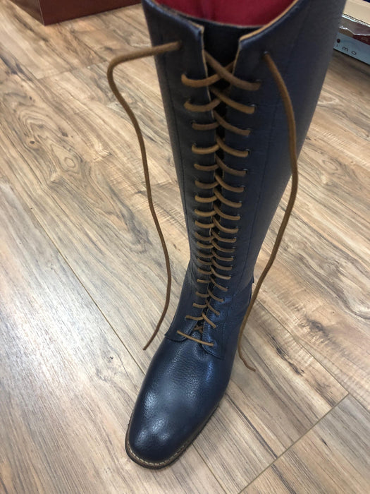 Deniro Lace Caprice leather tall boot