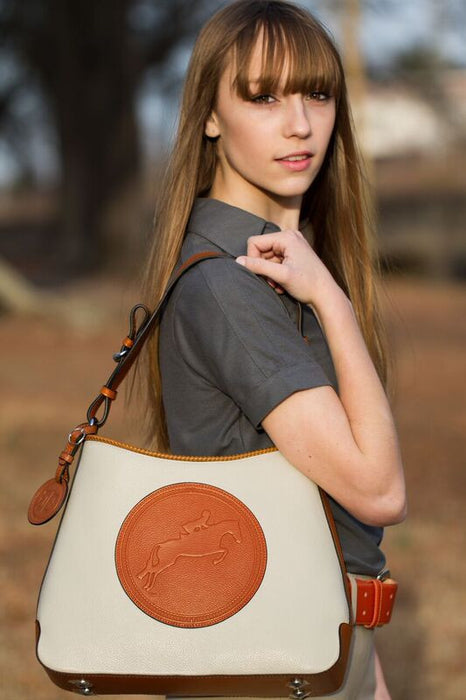 Tucker Tweed: The Tweed Manor Tote - Hunter/Jumper - Gee Gee Equine Equestrian Boutique   - 2