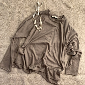 Raglan Tee_Heather Olive
