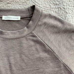 Raglan Tee_Heather Gray
