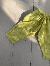 Load image into Gallery viewer, Triple Gauze Pants_Lime Yellow