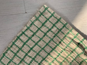 Grid Dress_Green