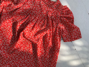 Blossom Dress_Red