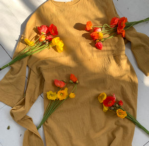 April Dress_Camel