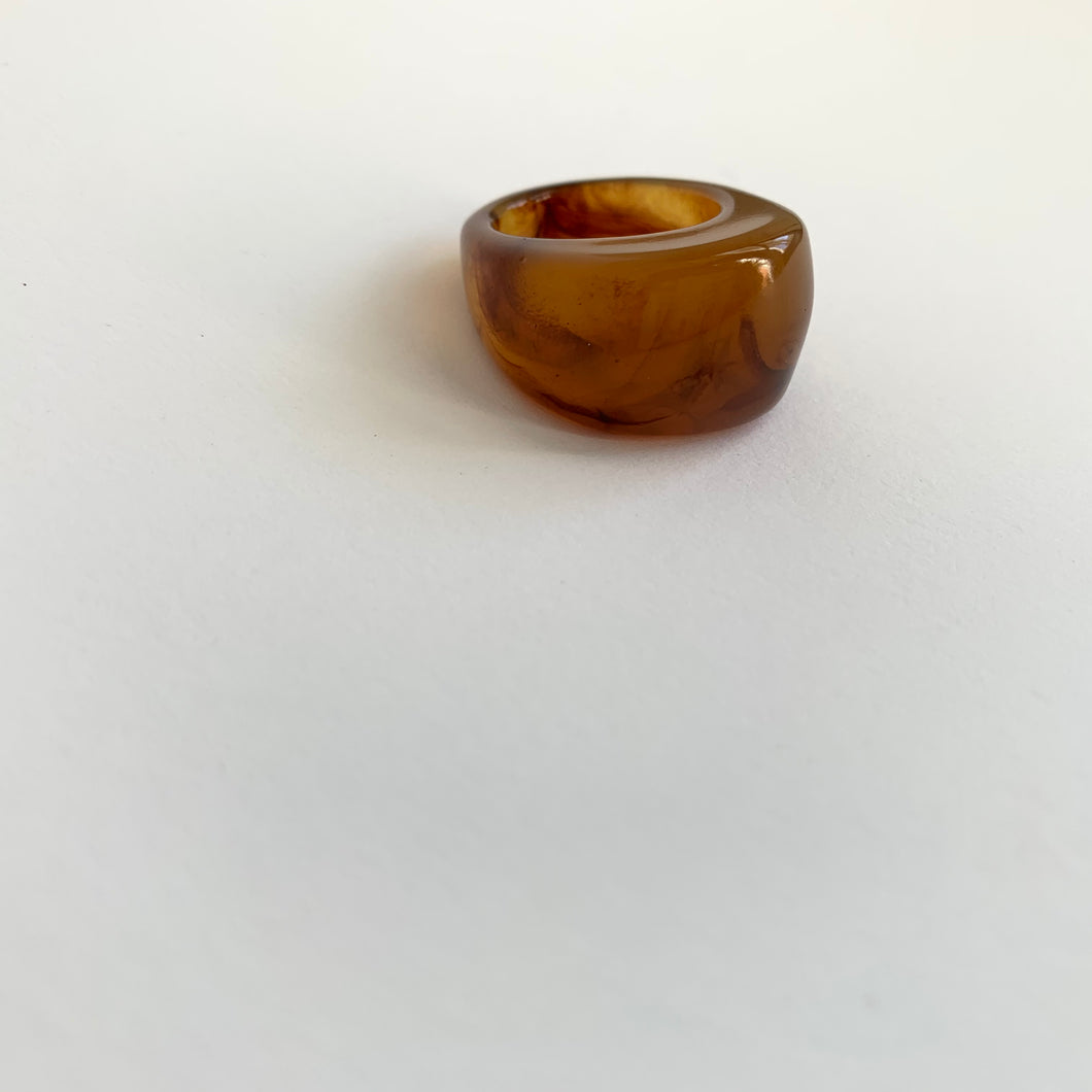 Magnified Ring_Brown