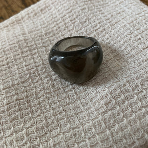 Magnified Ring_Dark Olive
